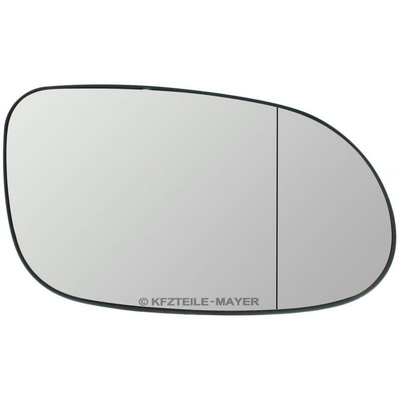 Rechts Asphärisch Spiegelglas Beheizbar für Mercedes SL-Klasse R230 2008-2012
