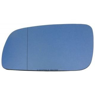 Mirror glass Volkswagen Golf Skoda Seat heated mirror glass blue aspheric large